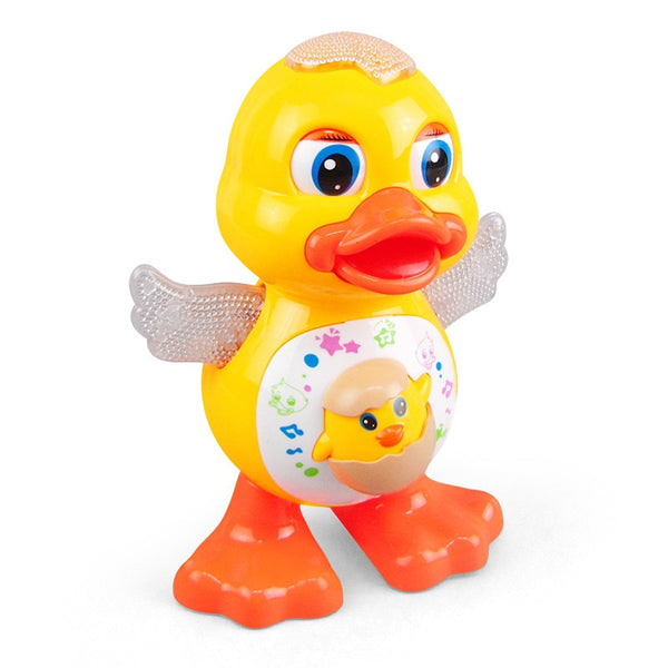 Cute Dancing Duck Educational Toy Musical Lighting Doll Toys Gifts Interactive dance yellow duck Kids Gift