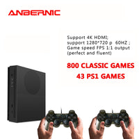 ANBERNIC PS1 Video Retro Games 64Bit HD TV HDMI 4k 800 games console  X-PRO 32G TF familt gift video game consoles for xbox ones
