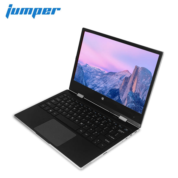 "11.6"" laptop IPS FHD Touch Display notebook 4GB 64GB eMMC 64GB SSD ultrabook Apollo Lake N3350 Jumper EZbook X1 Windows computer"