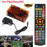 OSSC HDMI Converter Kit for Retro Game Consoles PS1 2 Xbox Sega Atari Nintendo,US Plug Add EU Adapter