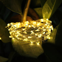 50/100/200 LED Solar Light Waterproof Fairy Garland Lights String Outdoor Holiday Christmas Party Wedding Solar Lamp Decor