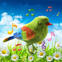 Cute Singing Bird Interactive Electronic Toys Simulation Bird Voice Control Music Educational Toys for Baby Kids Gift