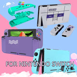 DIY Replacement Housing Shell Case Set for Nintendo Switch NS NX Console Joycon Right Left Switch Joy-Con Controller Soft Touch