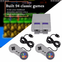 [BEST SELL]Super Mini 16 BIT Built-in 94 Games Console System With Gamepad For SNES Nintendo