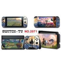 For Nintend Switch Vinyl Console Cover For NS For Nintendos Switch Skin Stickers Controller Protective Game Accessories