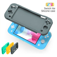 Silicone Protector Case for Nintendo Switch Lite 2019, Soft Anti-Scratches Protective Shell Cover Bumper Back Silicone Case NSL