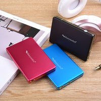 Manyuedun 2.5 Inch External Hard Drive Storage USB 2.0 HDD Portable External HD Hard Disk for Desktop Laptop Server
