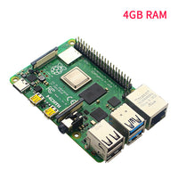 Original Latest Raspberry Pi 4 Model B Pi 4 Development Board 2G 4G 8G RAM 2.4G&5G WiFi Bluetooth 5.0 RPi 4