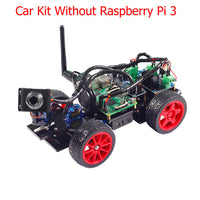 SunFounder Smart Remote Control Video Car Kit for Raspberry Pi 3 with Android APP Compatible with RPi 3 Model B+ B 2B 1 B+