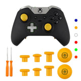 For XBOX One Elite Controller 8pcs Metal Replacement Swap Thumbsticks Joystick Caps Controller