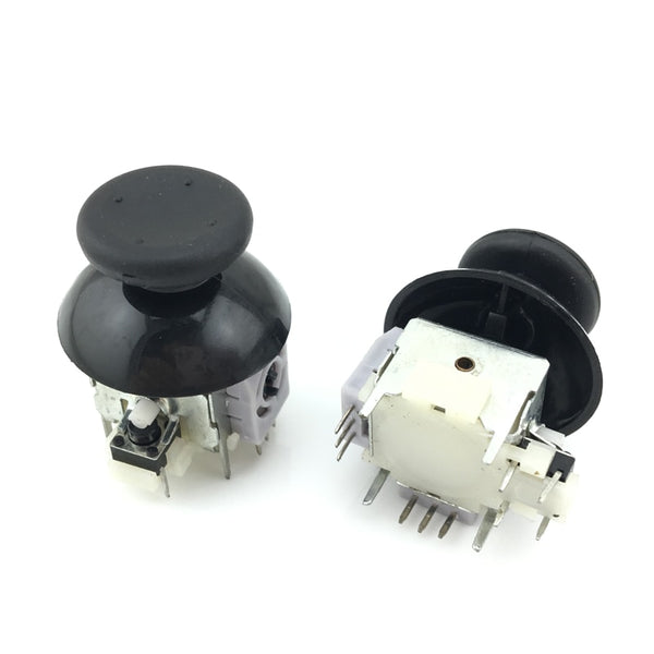 For Microsoft xbox 360 2x Analog Stick Potentiometers+2x Black thumbsticks for xbox360 controller XB3121