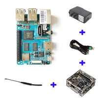 Banana Pi BPI M2 Berry Dual core Mali 400 MP2 GPU 1G LPDDR3  Open-source Development Board , Same Size as Raspberry Pi 3
