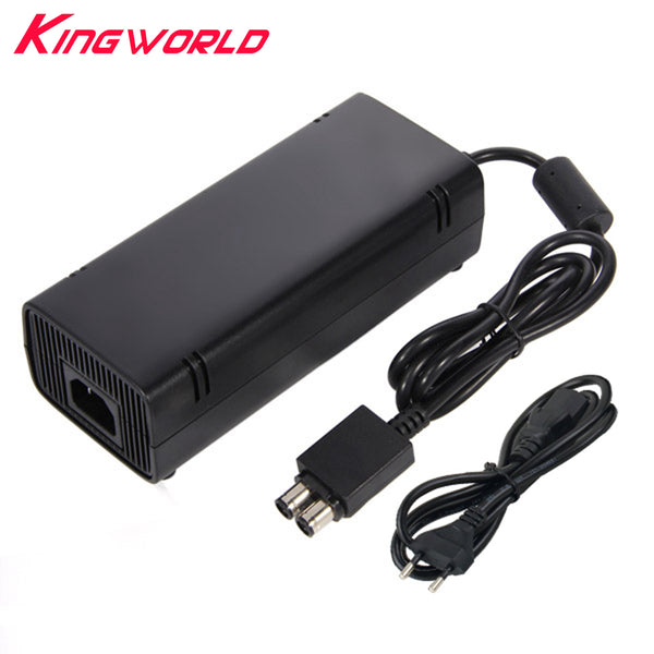 50pcs High quality EU Plug AC Adapter Charger Charging Power 135W Power Supply for Microsoft Xbox 360 S Slim