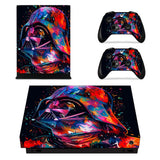 Star Wars Darth Vader Skin Sticker Decal For Microsoft Xbox One X Console and Controllers Skins Stickers for Xbox One X Vinyl