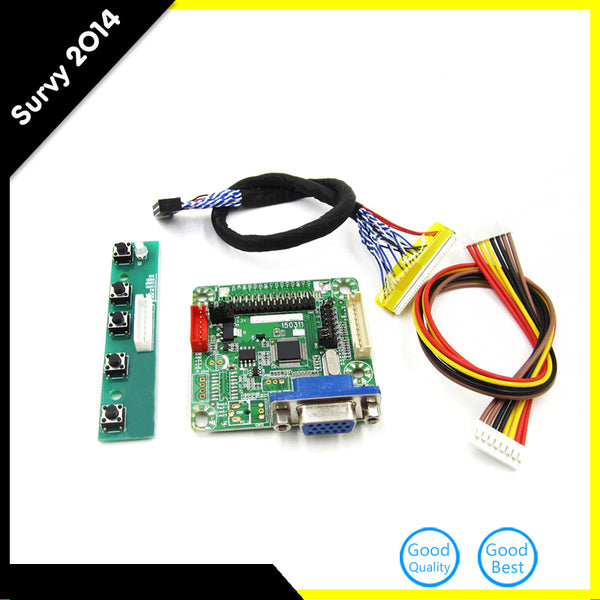 "MT6820-B Universal LVDS LCD Montor Screen Driver Controller Board 5V 10""-42"" Laptor Computer Parts DIY Kit Module"