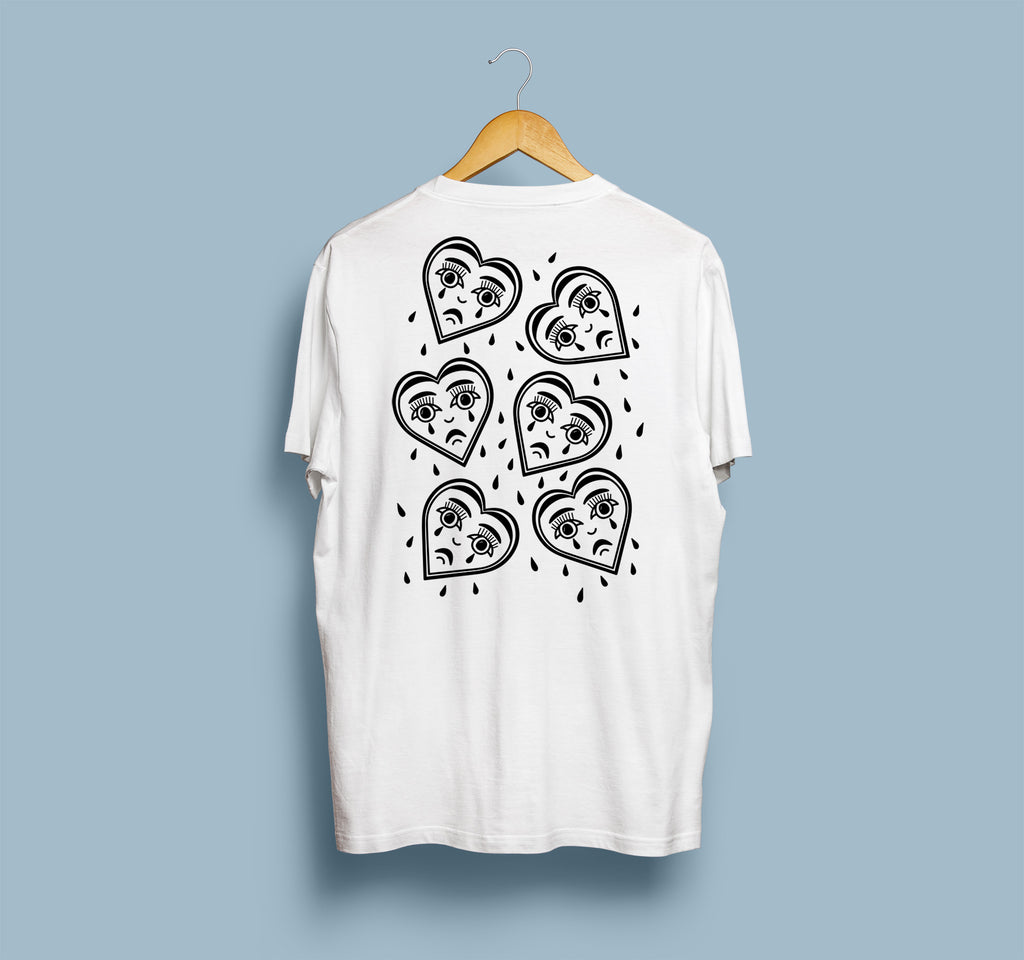 Weeping Hearts T-shirt