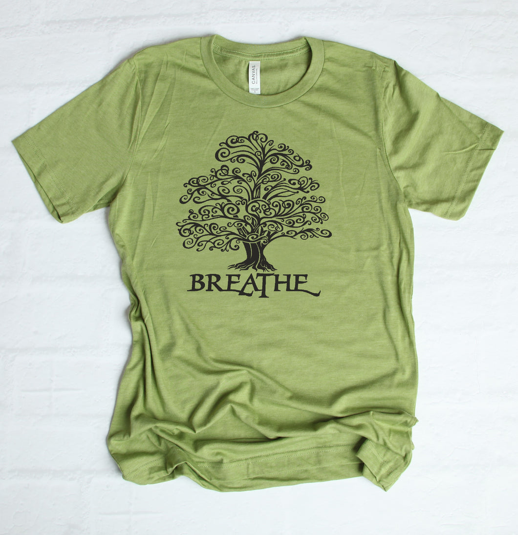 Breathe Tree Short Sleeve T-Shirt