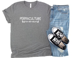 Permaculture Grow With Nature T-Shirt