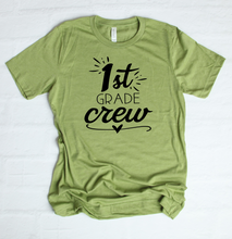 Load image into Gallery viewer, 1st Grade Crew T-Shirt