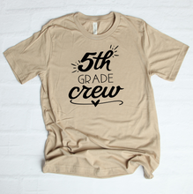 Load image into Gallery viewer, 5th Grade Crew T-Shirt