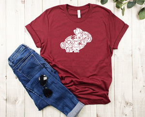 Floral Bunny T-Shirt