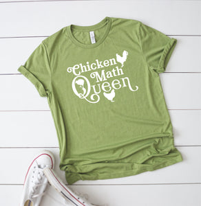 Chicken Math Queen T-Shirt