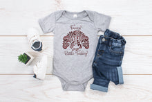 Load image into Gallery viewer, Fancy Little Turkey Toddler Shirt or Infant Bodysuit