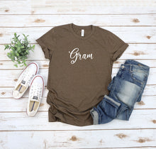 Load image into Gallery viewer, Personalized Grandma T-Shirt