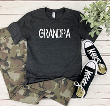 Load image into Gallery viewer, Personalized Grandpa T-Shirt