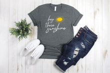 Load image into Gallery viewer, Hey There Sunshine Youth T-Shirt