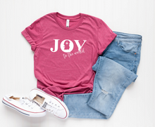 Load image into Gallery viewer, Joy To The World T-Shirt