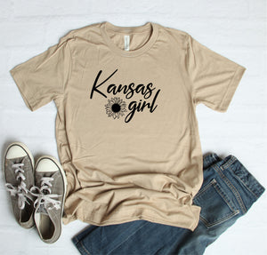Kansas Girl Sunflower T-Shirt