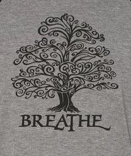 Load image into Gallery viewer, Breathe Tree 3/4 Sleeve Raglan Style Baseball T-Shirt
