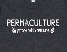 Load image into Gallery viewer, Permaculture Grow With Nature T-Shirt