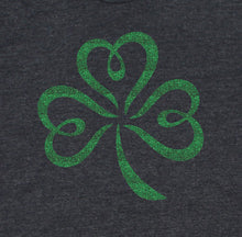 Load image into Gallery viewer, Green Glitter Shamrock T-Shirt