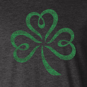 Childs Glitter Shamrock T-Shirt