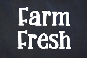 Farm Fresh Canvas Tote Bag