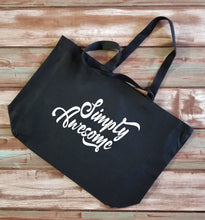 Load image into Gallery viewer, Simply Awesome Large Tote Bag