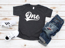 Load image into Gallery viewer, Sporty First Birthday Shirt