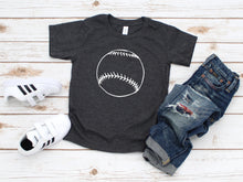 Load image into Gallery viewer, Rustic Baseball Toddler Shirt