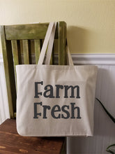Load image into Gallery viewer, Farm Fresh Canvas Tote Bag