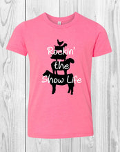 Load image into Gallery viewer, Rockin' The Show Life Youth T-Shirt