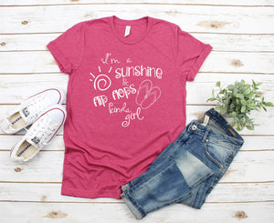 I'm a Sunshine & Flip Flops Kinda Girl T-Shirt