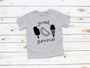 Sweet Summer Toddler Shirt