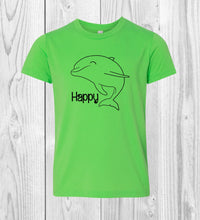 Load image into Gallery viewer, Happy Dolphin T-Shirt