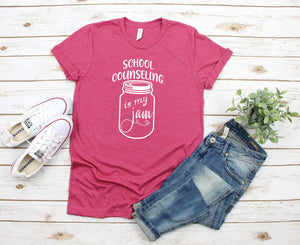 School Counseling Is My Jam T-Shirt