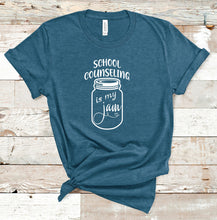 Load image into Gallery viewer, School Counseling Is My Jam T-Shirt