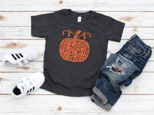 Load image into Gallery viewer, Fancy Pumpkin Toddler T-Shirt