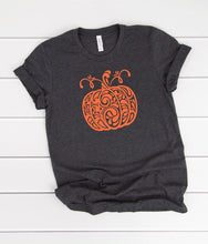 Load image into Gallery viewer, Kid's Fancy Pumpkin T-Shirt