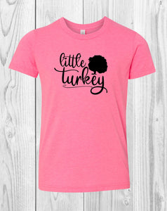 Little Turkey Infant Bodysuit Toddler Shirt or Youth Shirt
